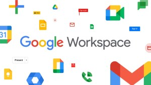 bouton Google Workspace