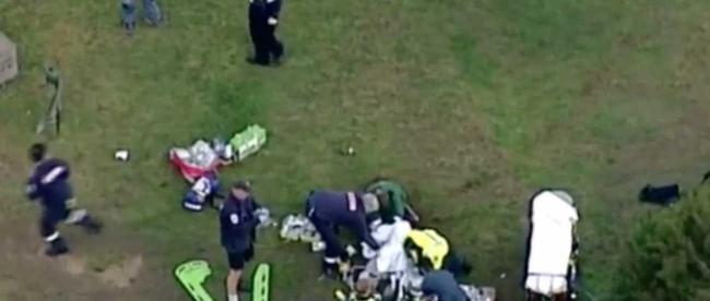 Bloodbath on the golf course