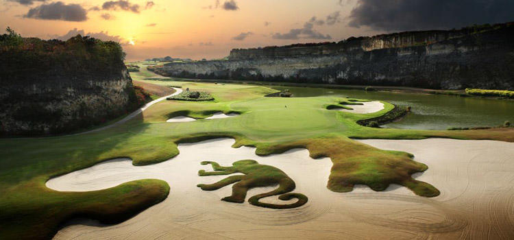 Best Par 3 Holes in the World - Green Monkey Golf Course