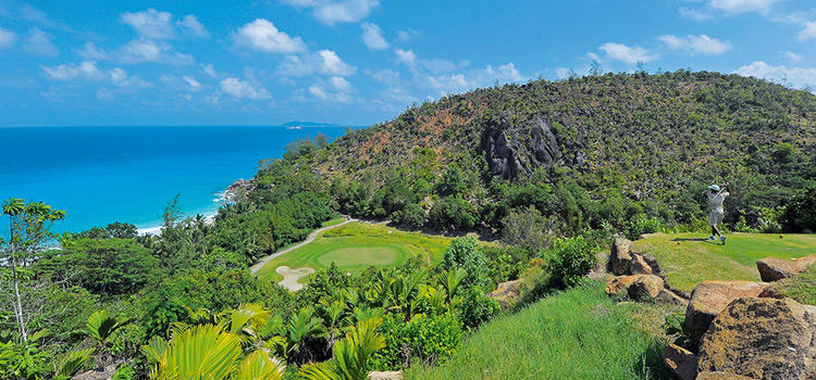 Best Par 3 Holes in the World - Lemuria Golf Course Hole 15