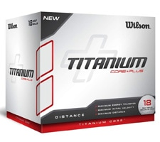 Best Golf Gifts Under $10 - Wilson Titanium Balls