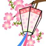 桜と提灯(JPEG)