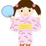 浴衣の女の子(JPEG)