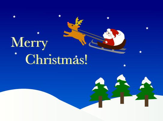 クリスマスイラスト(JPEG)