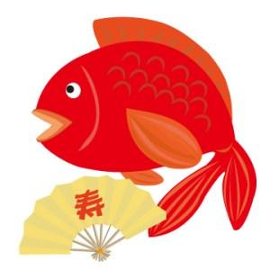 鯛のイラスト(jpeg)