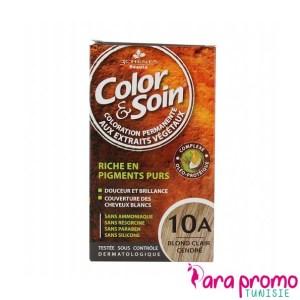 3 CHÊNES COLOR & SOIN COLORATION - 10A BLOND CLAIR CENDRÉ