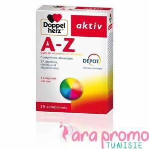 AKTIV A-Z 30 COMPRIMES