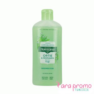 FLORESSANCE SHAMPOOING INFUSION ORTIE ROMARIN - PURIFIE 250ML