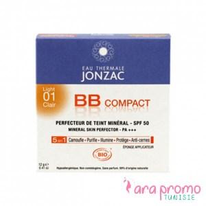 Jonzac BB compact N°01 clair - Eau Thermale Jonzac