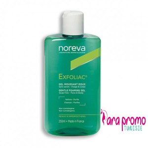 NOREVA-EXFOLIAC-GEL-MOUSSANT-250ML