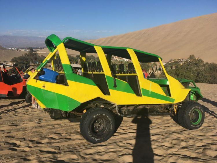 Buggy riding Huacachina