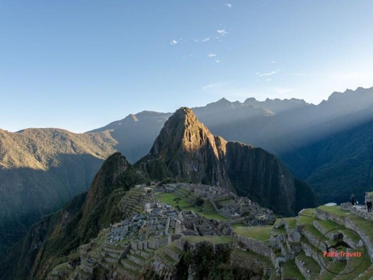 Machu Picchu sunrise