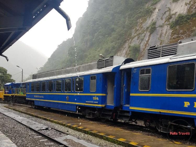 Perurail train