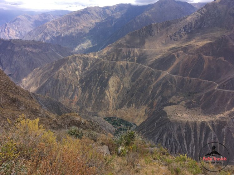 View over Colca Canyon