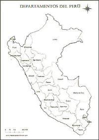 mapa del peru para colorear   Para Viajar, para unas ...