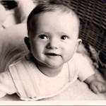 Sechs Wochen alter Gregor