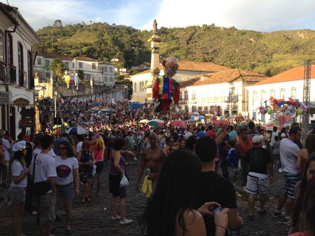 Karneval 2012 in Ouro Preto