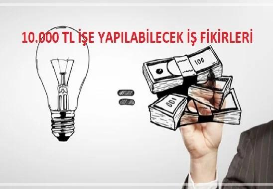 10.000 TL ile Yapılabilecek Yatırımlar