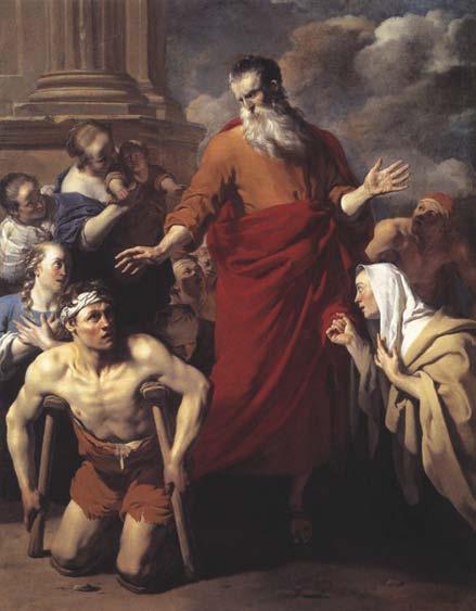 St. Paul Healing the Cripple at Lystra, Karel Dujardin, 1663