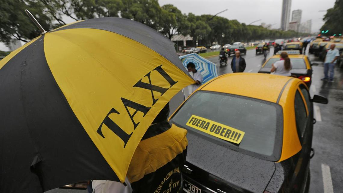 taxi contra uber