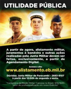 Alistamento Militar Digital