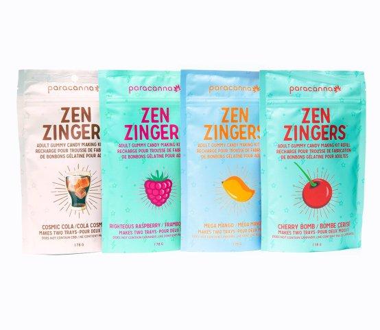 Zen Refill Mixed 4 Pack