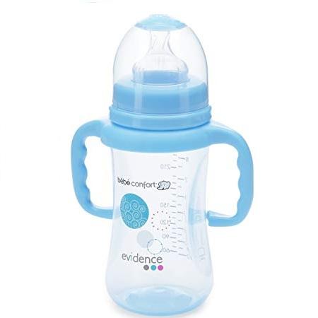 bebe confort biberon maternity 270 ml bleu avec poignees para casa