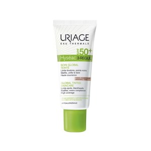 URIAGE HYSEAC 3 REGUL SOIN GLOBAL TEINTE SPF50 PEAUX GRASSES A IMPERFECTIONS 40ML