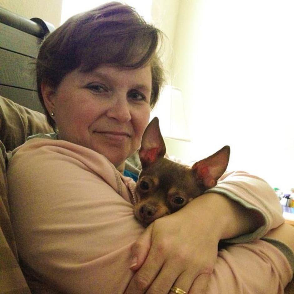 Chihuahua con su favorita