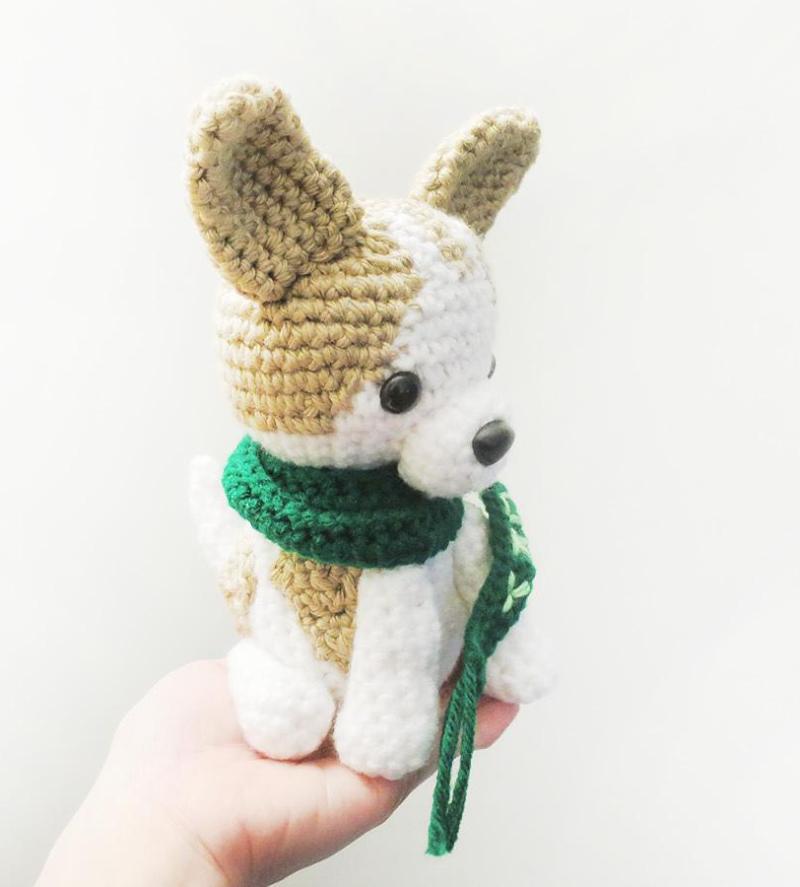 Aprende a hacer un peluche tejido de chihuahua - Para Chihuahuas