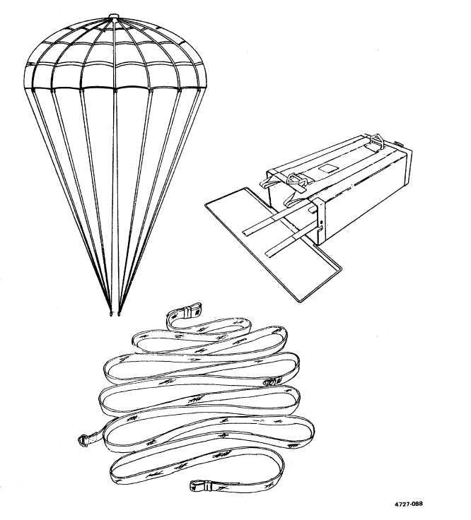Figure 1-2. 15-Foot Diameter, Cargo Extraction Parachute
