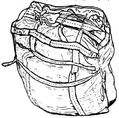 Figure 2-95. Packing Completed, G12E Parachute
