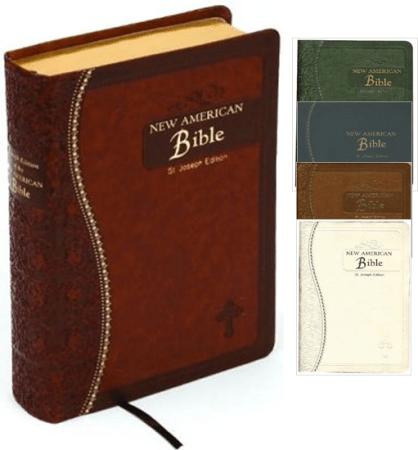NAB Saint Joseph Gift Bibles: $34.95-36.95