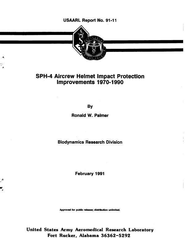 91-11-USAARL-Tech Report