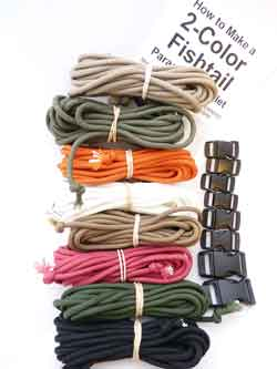 Paracord Bracelets Kit by Dakota Gear
