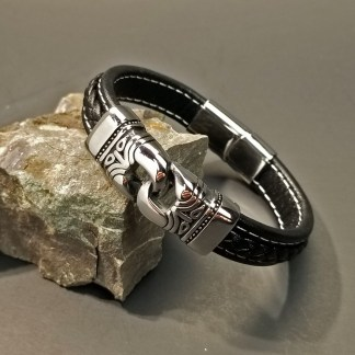 Leather Bracelet Ancient Gods