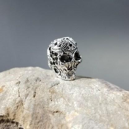 Silver Scull Decorative