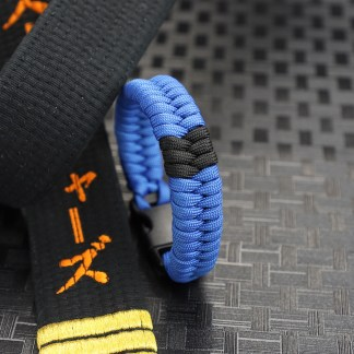 Blue belt with Stripes