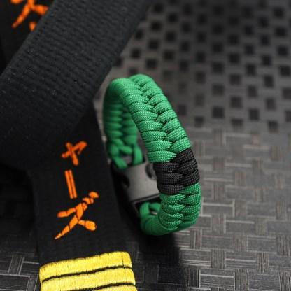 Green Belt with Stripe