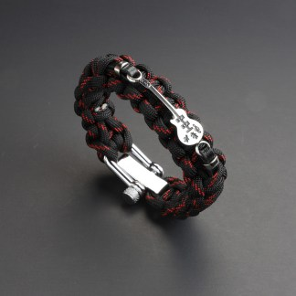 Guitar Red Line Paracord