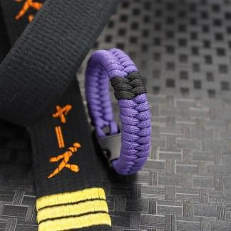Purpla Belt with Stripes
