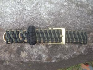 Black OD Green Coyote Dog Collar