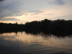 Sunset Jewitt Lake