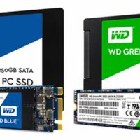 Unidades de Estado Sólido WD, diferencias entre WD Green vs WD Blue vs WD Black