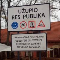 La Republica de Uzupis en Vilna: una constitución por amor al arte