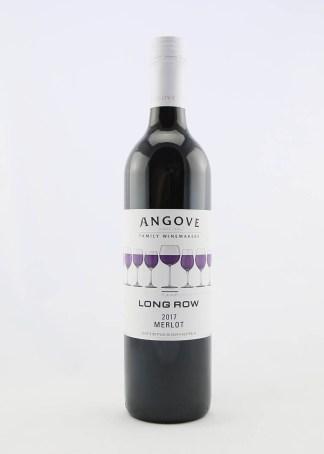 ANGOVES LONGROW MERLOT 750ML