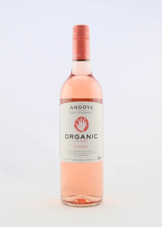 ANGOVES ORGANIC ROSE 750ML