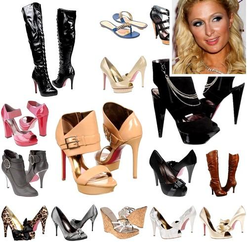 Paris Hilton Spring 2011 Shoe Collection!
