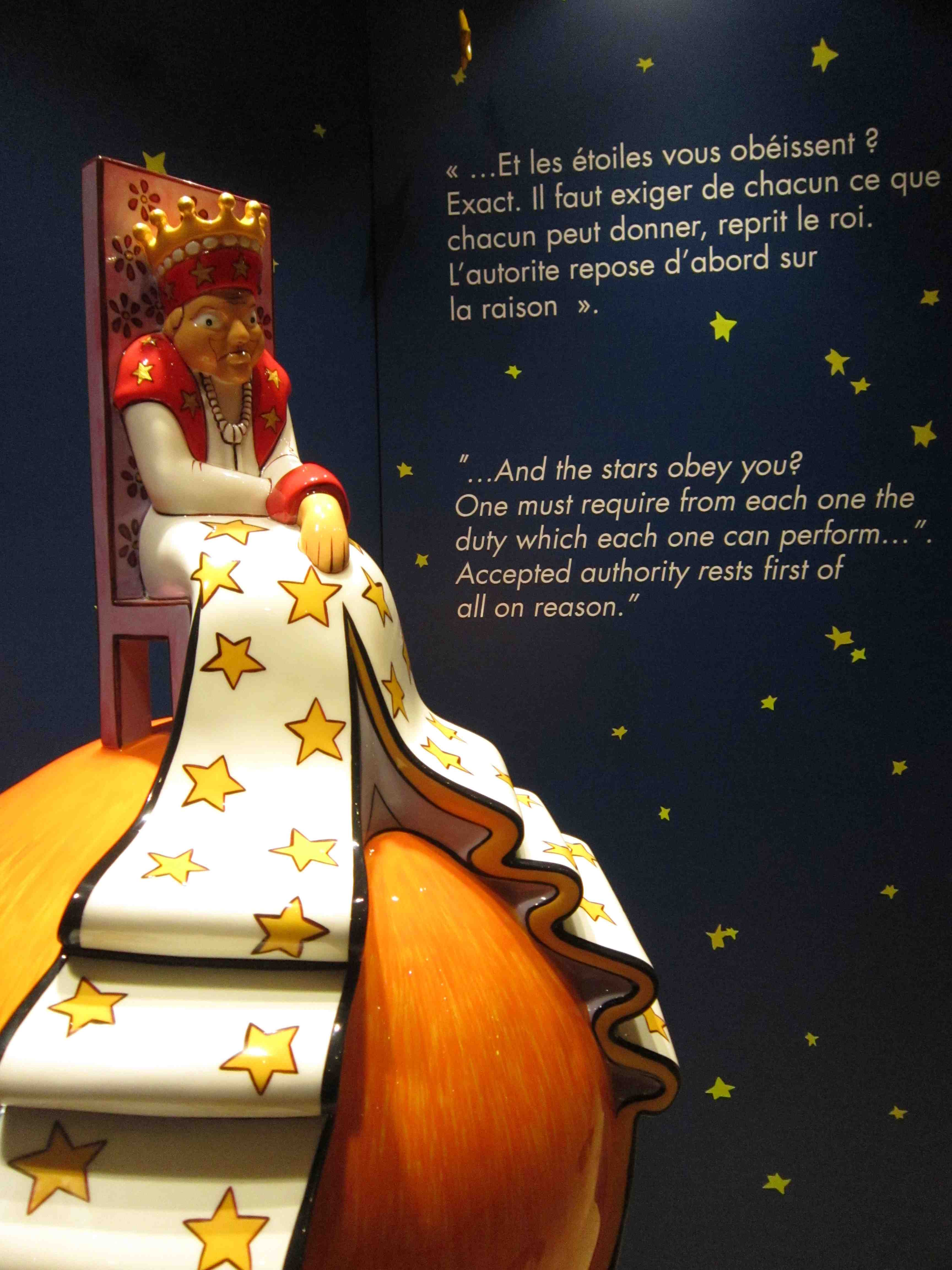 The Little Prince Exhibition At The Fullerton