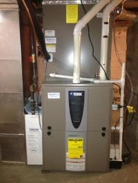 New Natural Gas Furnace with Air Conditioning & On Demand ...